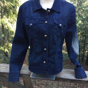 Charter Club light weight  jean jacket